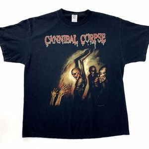 Cannibal Corpse Gore Obsessed 2005 Y2K T-Shirt